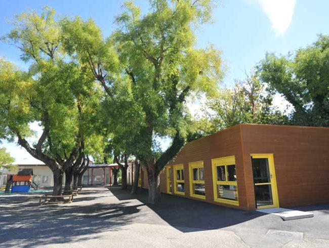 ecole maternelle pour la ville d avignon 84 cougnaud construction