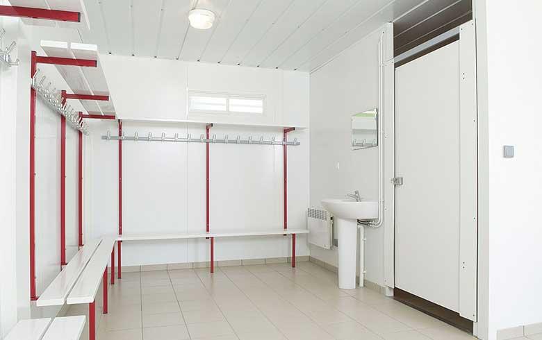 vestiaires pour le club de foot de saligny 85 cougnaud construction. Black Bedroom Furniture Sets. Home Design Ideas
