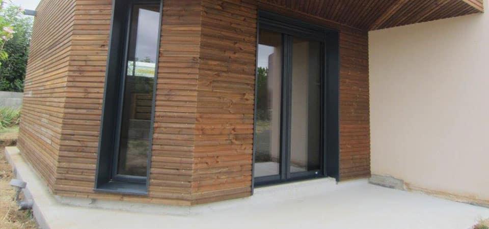 Mur ossature bois MOB Cougnaud Construction # Fabrication Mur Ossature Bois