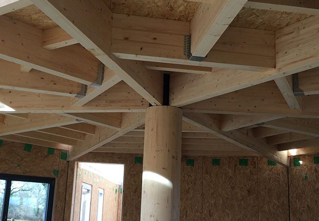 Fob la fa ade ossature bois en construction industrialis e for Construction en bois details